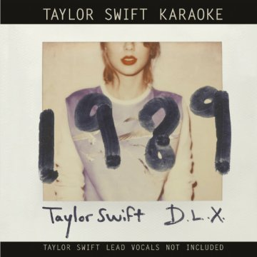 Taylor Swift Karaoke - 1989 (Deluxe Edition) CD+DVD