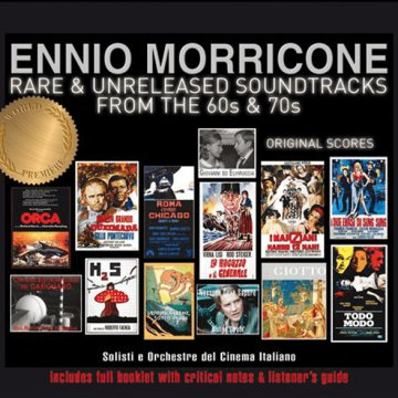 Rare & Unreleased Soundtracks From The 60s & 70s - Original Scores CD
