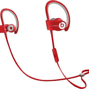 by Dr.Dre PowerBeats 2 wireless headset piros (MHBF2ZM/A)