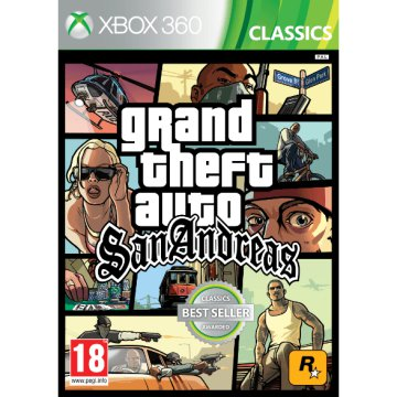 Grand Theft Auto: San Andreas (Classics Best Seller) XBOX 360