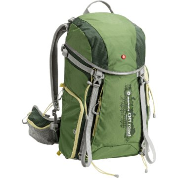MB OR-BP-30GR OFF ROAD Hiker 30L fotós hátizsák zöld