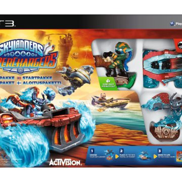 Skylanders SuperChargers: Starter Pack PS3
