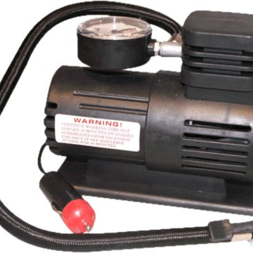 Kompresszor 12V, 3 adapterrel, 250 PSI