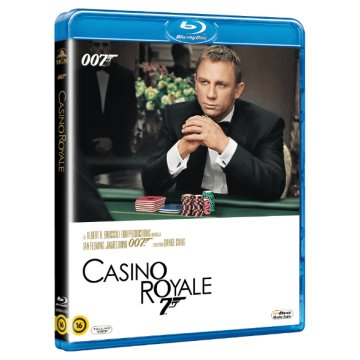 James Bond - Casino Royale (új kiadás) Blu-ray