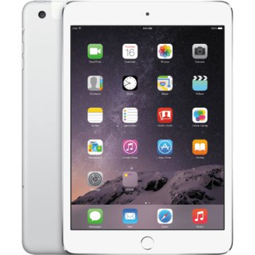 iPad mini 4 Wifi + 4G 128GB ezüst (mk722hc/a)
