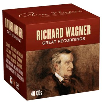 Richard Wagner - Great Recordings CD