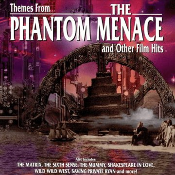 Themes From The Phantom Menace and Other Film Hits CD