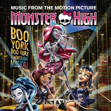 Monster High - Boo York, Boo York CD