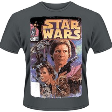 Star Wars - Comic T-Shirt XL
