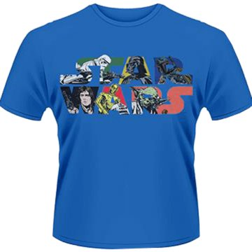 Star Wars - Comic Logo T-Shirt XXL