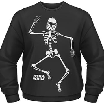Star Wars - Halloween Clone Skeleton Sweatshirt S