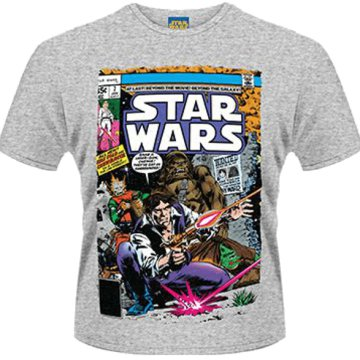 Star Wars - Han and Chewie Poster T-Shirt M
