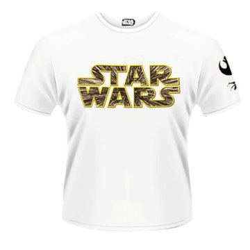 Star Wars The Force Awakens - Hyperspace Logo T-Shirt L