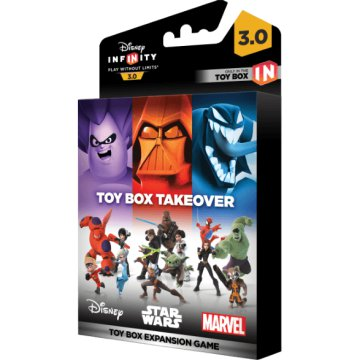 Infinity 3.0 Takeover Toy Box Set