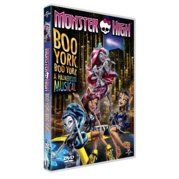 Monster High - Boo York, Boo York - A hajmeresztő Musical DVD