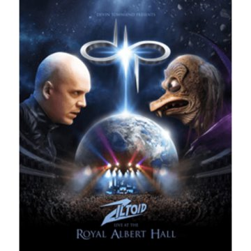 Ziltoid Live at the Royal Albert Hall Blu-ray