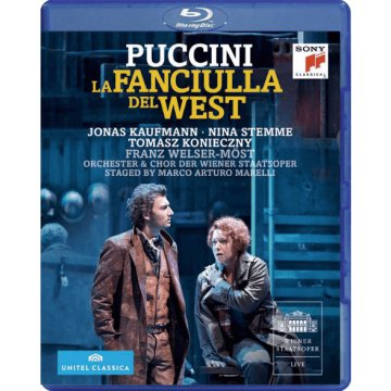 La Fanciulla del West Blu-ray