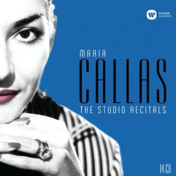 Maria Callas - The Studio Recitals 1954-1969 CD