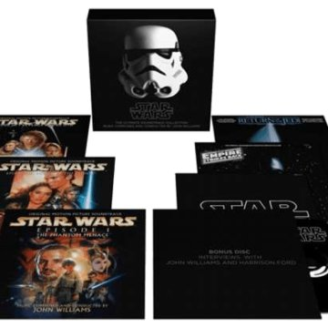 Star Wars - The Ultimate Soundtrack Collection (Csillagok háborúja) CD+DVD