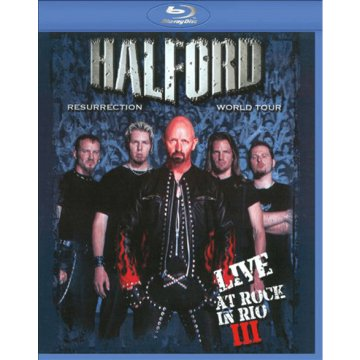 Resurrection World Tour - Live at Rock in Rio III Blu-ray
