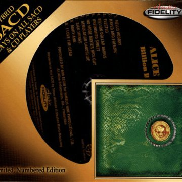 Billion Dollar Babies (Limited Numbered Edition) SACD