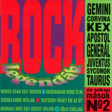 Rock Legendák No.2 CD