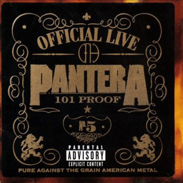 Official Live - 101 Proof CD