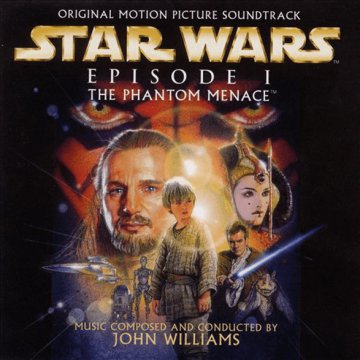 Star Wars Episode I - The Phantom Menace (Csillagok Háborúja I. rész - Baljós árnyak) CD