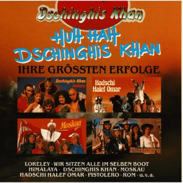 Huh Hah Dschinghis Khan CD