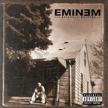The Marshall Mathers LP CD