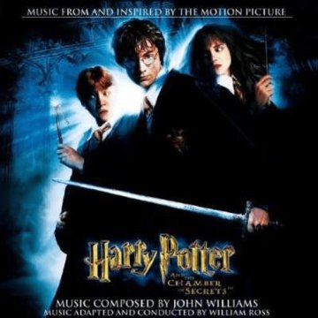 Harry Potter And The Chamber Of Secrets (Harry Potter és a titkok kamrája) CD