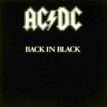 Back In Black LP