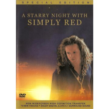 A Starry Night With Simply Red DVD
