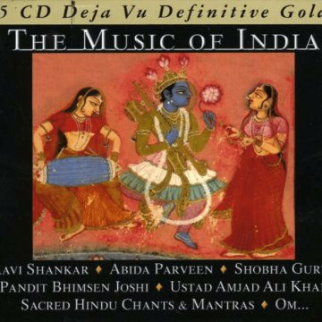 The Music of India CD