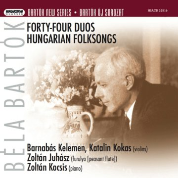 Bartók New Series - Forty-four Duos - Hungarian Folksongs CD