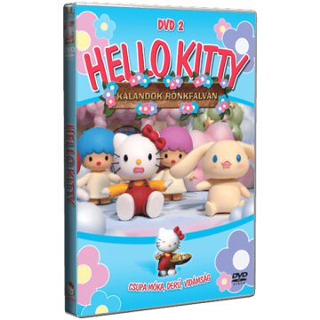 Hello Kitty - Kalandok Rönkfalván 2. DVD