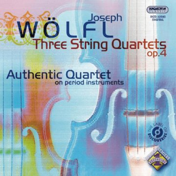 Three String Quartets op.4 CD