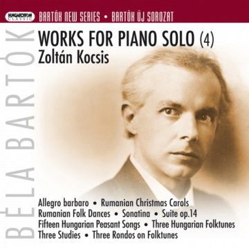 Bartók New Serise - Works for Piano Solo No. 4 CD