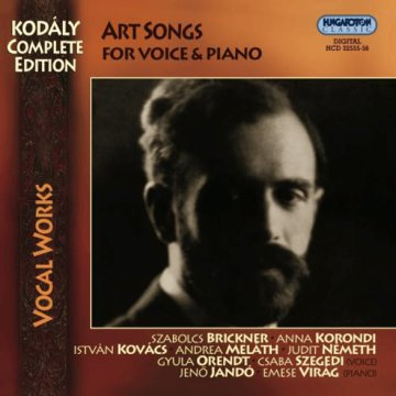 Complete Songs for Voice and Piano CD