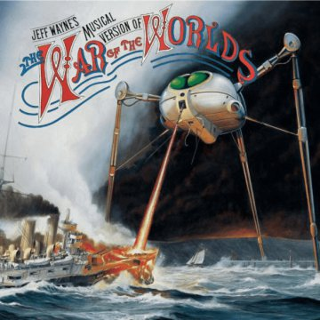 The War Of The Worlds (Világok háborúja) CD