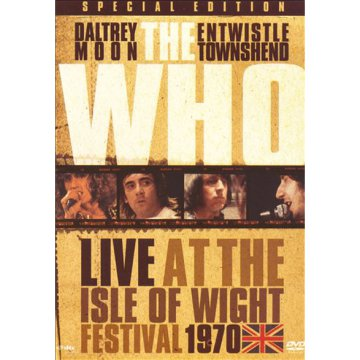 Live at the Isle of Wight Festival 1970 DVD