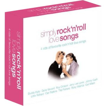Simply Rock n' Roll Love Songs CD