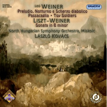 Leó Weiner: Original Works and a Liszt Arrangement CD
