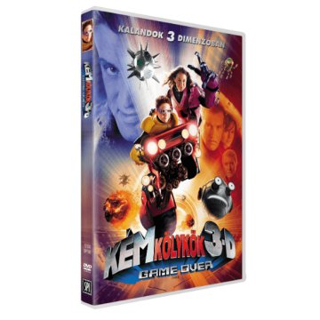 Kémkölykök 3D - Game Over DVD