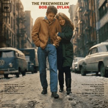 Freewheelin' Bob Dylan LP