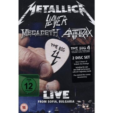 The Big Four: Live From Sofia DVD
