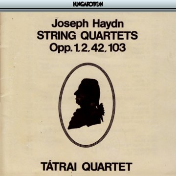 String Quartets Opp. 1,2,42,103 CD