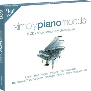 Simply Piano Moods (dupla lemezes) CD