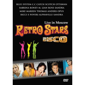 Retro Stars Live in Moscow DVD
