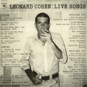 Live Songs (Remastered) LP
